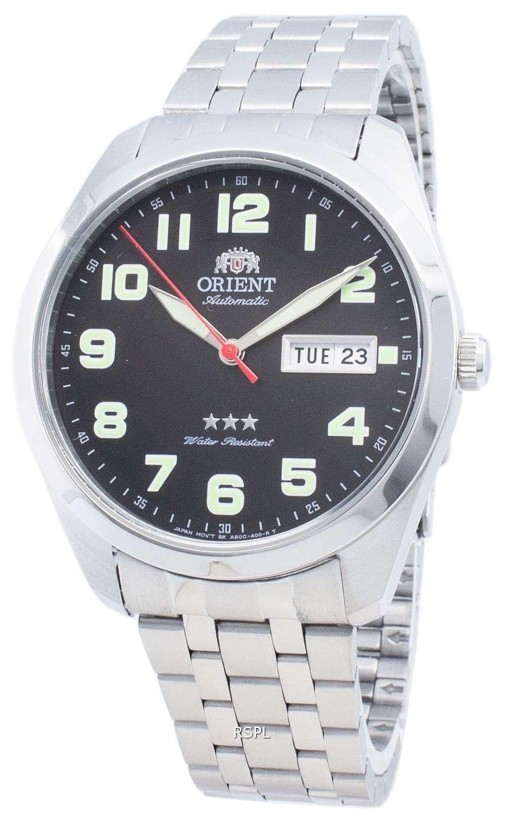 オリエントトライスターRA-AB0024B19B自動ユニセックス腕時計