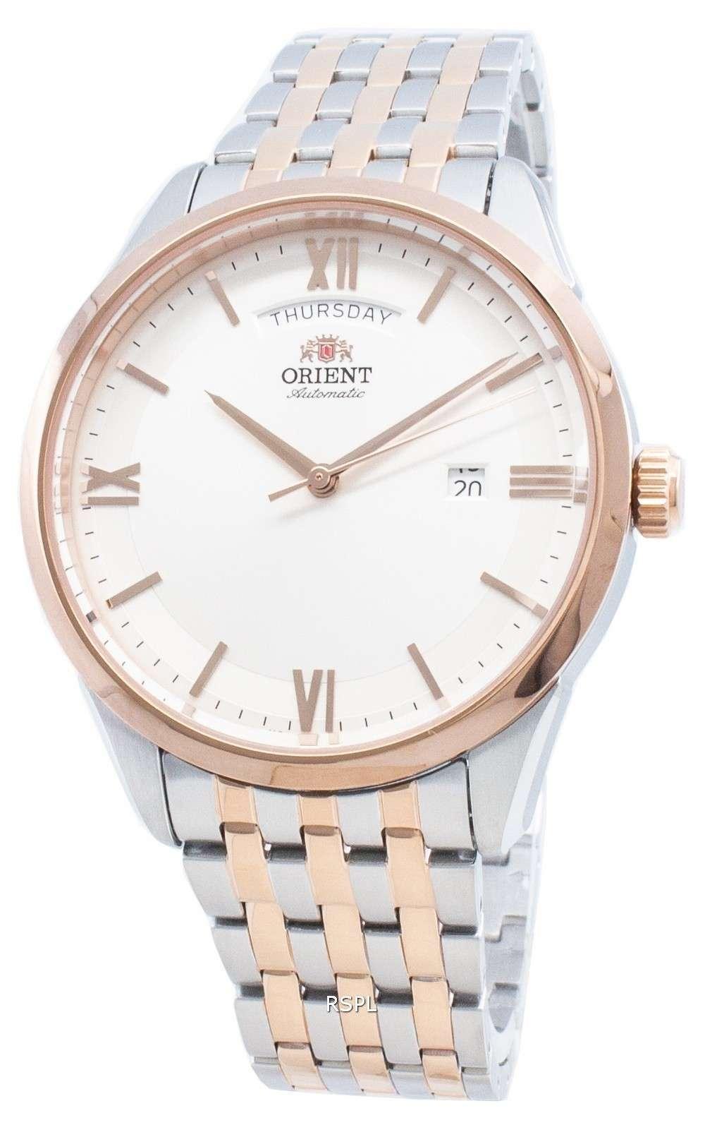 オリエント自動RA-AX0001S0HCメンズ腕時計