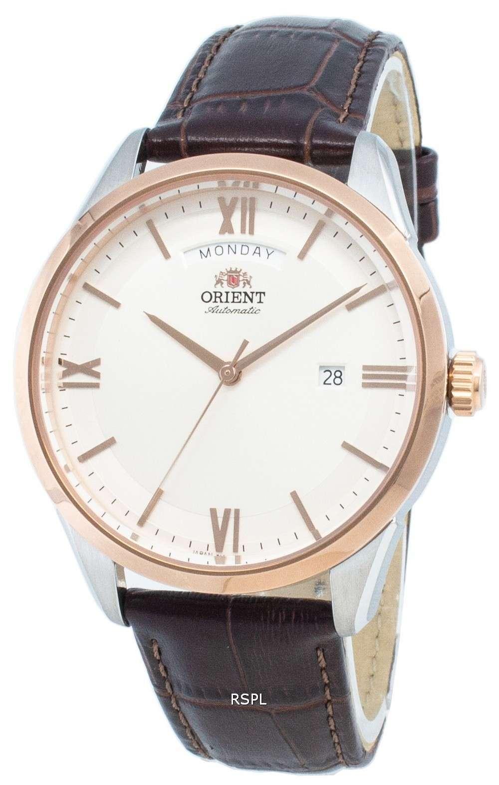 オリエント現代自動RA-AX0006S0HBメンズ腕時計