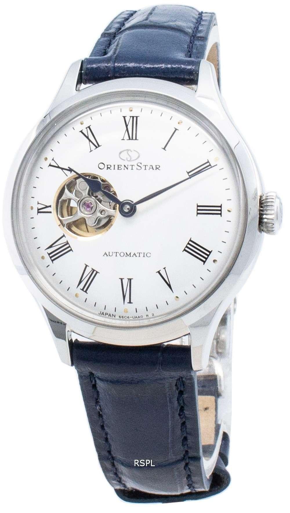 オリエントスター自動RE-ND0005S00Bオープンハートレディース腕時計