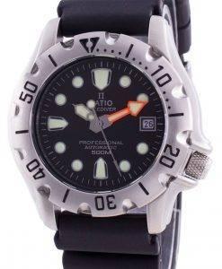 比率無料ダイバープロフェッショナル500 Mサファイア自動32BJ202A-BLKメンズ腕時計