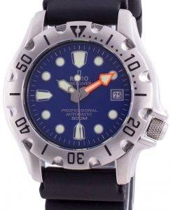 レシオフリーダイバープロフェッショナル500Mサファイアオートマティック32BJ202A-BLUメンズ腕時計