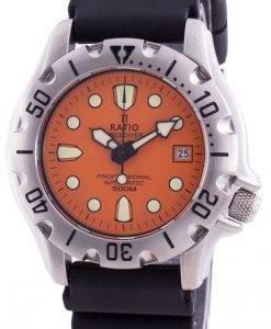 レシオフリーダイバープロフェッショナル500Mサファイアオートマティック32BJ202A-ORGメンズ腕時計