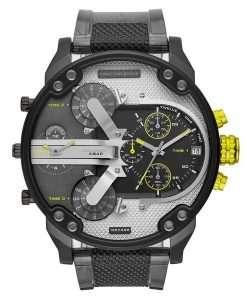 ディーゼルMr. Daddy 2.0 DZ7422クロノグラフクォーツメンズ腕時計