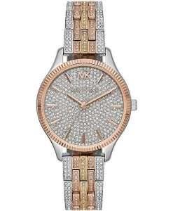 マイケルコースレキシントンMK6681ダイヤモンドアクセントクォーツレディース腕時計