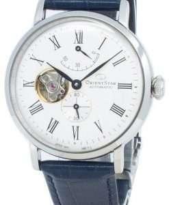 オリエントスター自動RE-AV0007S00Bオープンハートジャパン製メンズ腕時計
