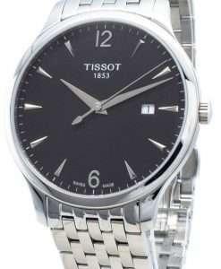 ティソT-Classic伝統T063.610.11.057.00 T0636101105700クォーツメンズ腕時計