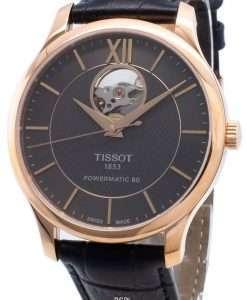 ティソT-Classic伝統T063.907.36.068.00 T0639073606800オープンハート自動メンズ腕時計