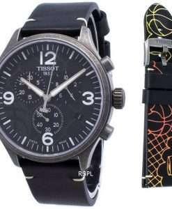 ティソクロノXL 3X3 T116.617.36.067.00 T1166173606700クォーツメンズ腕時計