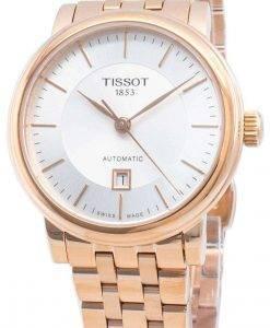 ティソ自動カーソンプレミアムT122.207.33.031.00 T1222073303100レディース腕時計
