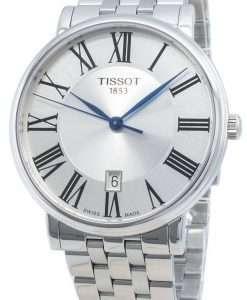 ティソカーソンプレミアムT122.410.11.033.00 T1224101103300クォーツメンズ腕時計