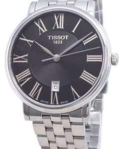 ティソカーソンプレミアムT122.410.11.053.00 T1224101105300クォーツメンズ腕時計