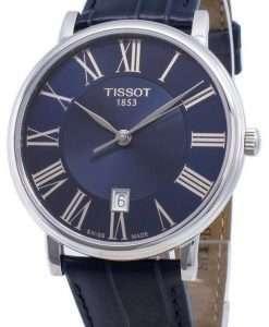 ティソカーソンプレミアムT122.410.16.043.00 T1224101604300クォーツメンズ腕時計