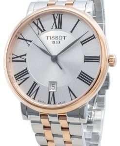 ティソカーソンプレミアムT122.410.22.033.00 T1224102203300クォーツメンズ腕時計