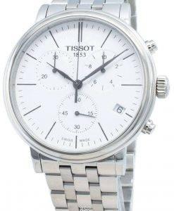 ティソカーソンプレミアムT122.417.11.011.00 T1224171101100クロノグラフクォーツメンズ腕時計