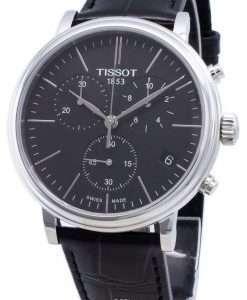 ティソカーソンプレミアムT122.417.16.051.00 T1224171605100クロノグラフクォーツメンズ腕時計