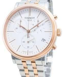ティソカーソンプレミアムT122.417.22.011.00 T1224172201100クロノグラフクォーツメンズ腕時計