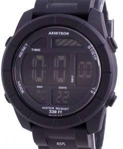 アーミトロンスポーツ408253BLKクォーツメンズ腕時計
