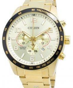 シチズンAN8163-54Pタキメータークォーツメンズ腕時計