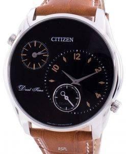 シチズンデュアルタイムAO3030-08Eクォーツメンズ腕時計