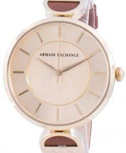 アルマーニエクスチェンジブルックAX5324クォーツレディース腕時計