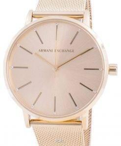 アルマーニエクスチェンジローラAX5536クォーツレディース腕時計