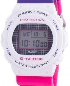 カシオG-ショックスローバックDW-5700THB-7クォーツショック耐性200 Mメンズ腕時計