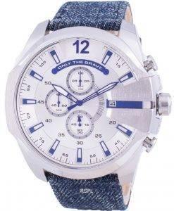 ディーゼルメガチーフDZ4511クォーツクロノグラフメンズ腕時計