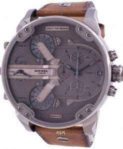 ディーゼルミスターダディ2.0 DZ7413クォーツクロノグラフメンズ腕時計