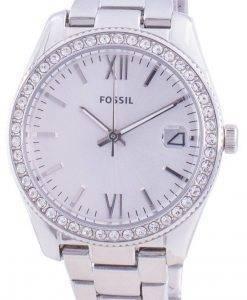 FossilスカーレットES4317クォーツダイヤモンドアクセントレディース腕時計