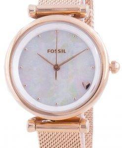 FossilカーリーミニES4505クォーツレディース腕時計