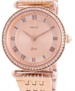 Fossil Lyric ES4711クォーツダイヤモンドアクセントレディース腕時計