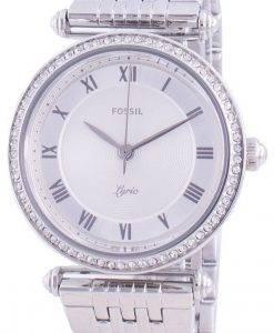 Fossil Lyric ES4712クォーツダイヤモンドアクセントレディース腕時計