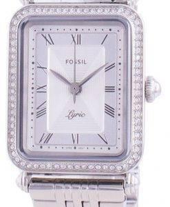 Fossil Lyric ES4721クォーツダイヤモンドアクセントレディース腕時計