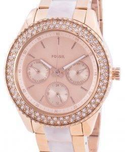 Fossil Stella ES4755クォーツダイヤモンドアクセントレディース腕時計