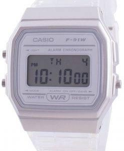 カシオユースF-91WS-7クォーツレディース腕時計