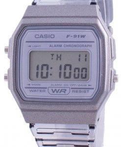 カシオユースF-91WS-8クォーツレディース腕時計