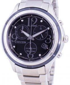 シチズンエコ・ドライブFB1376-54Eクロノグラフレディース腕時計