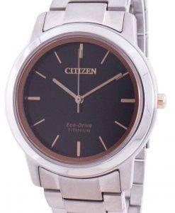 シチズンエコ・ドライブチタンFE7024-84Eレディース腕時計