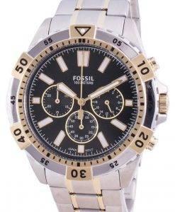 Fossil Garrett FS5622クォーツクロノグラフメンズ腕時計