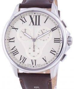フォッシルモンティFS5638クォーツクロノグラフメンズ腕時計