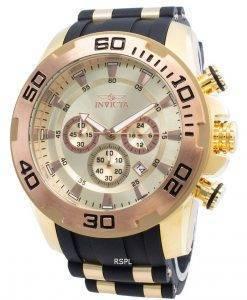 インビクタプロダイバースキューバ22342クロノグラフクォーツメンズ腕時計