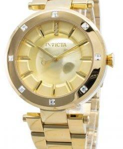 インビクタエンジェル23728ダイヤモンドアクセントクォーツレディース腕時計