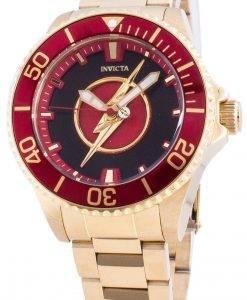 インビクタDCコミックフラッシュ26907限定版自動200 Mレディース腕時計