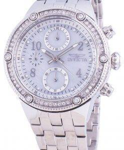 インビクタエンジェル29526クォーツダイヤモンドアクセントレディース腕時計