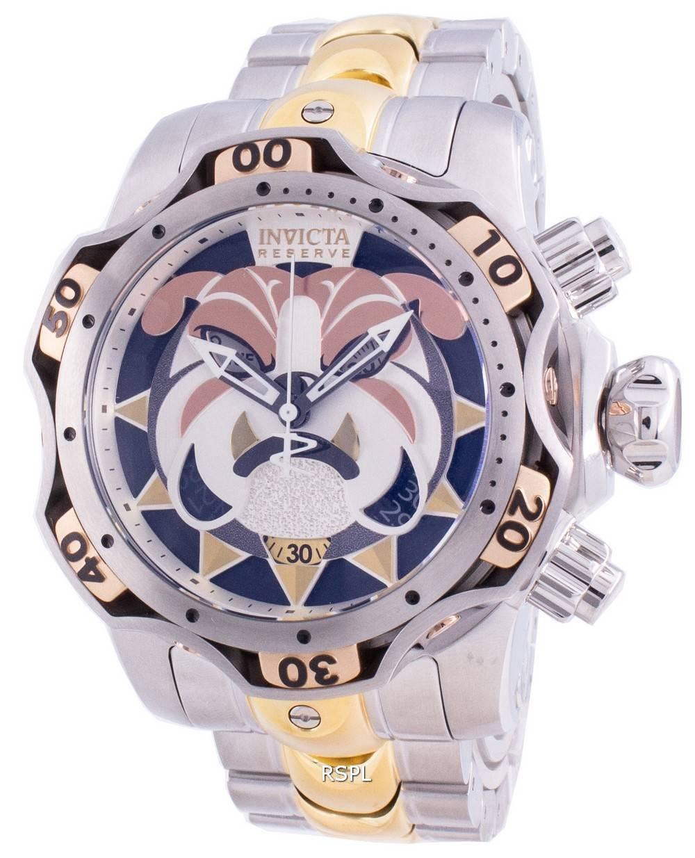 インビクタリザーブヴェノム30343クォーツクロノグラフ1000Mメンズ腕時計