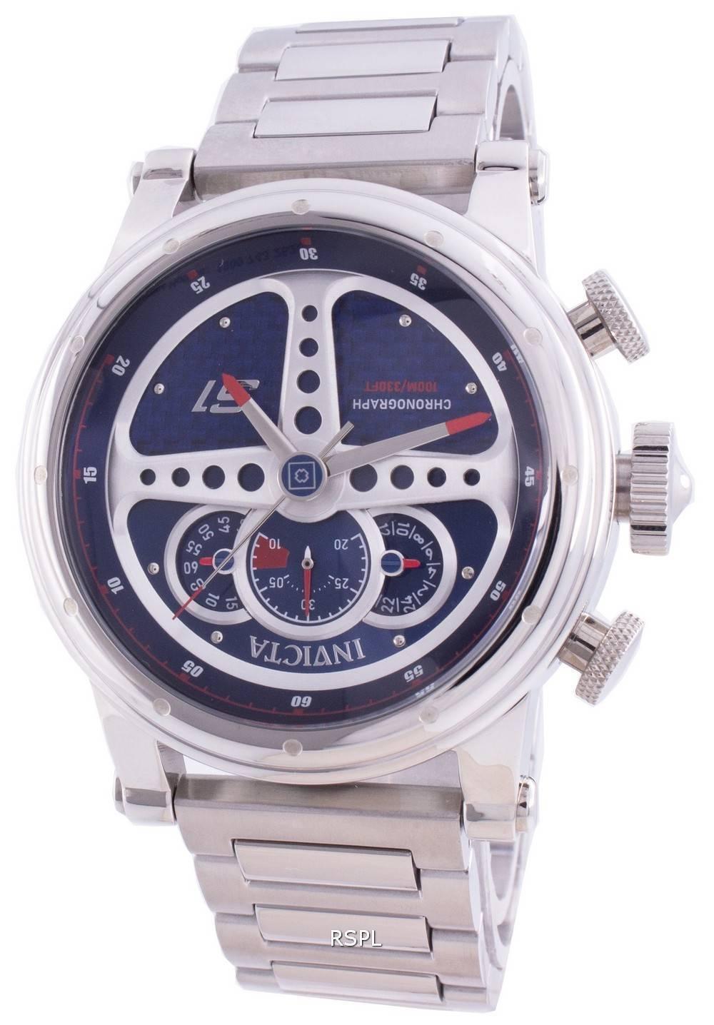 インビクタS1ラリー30576クォーツクロノグラフメンズ腕時計