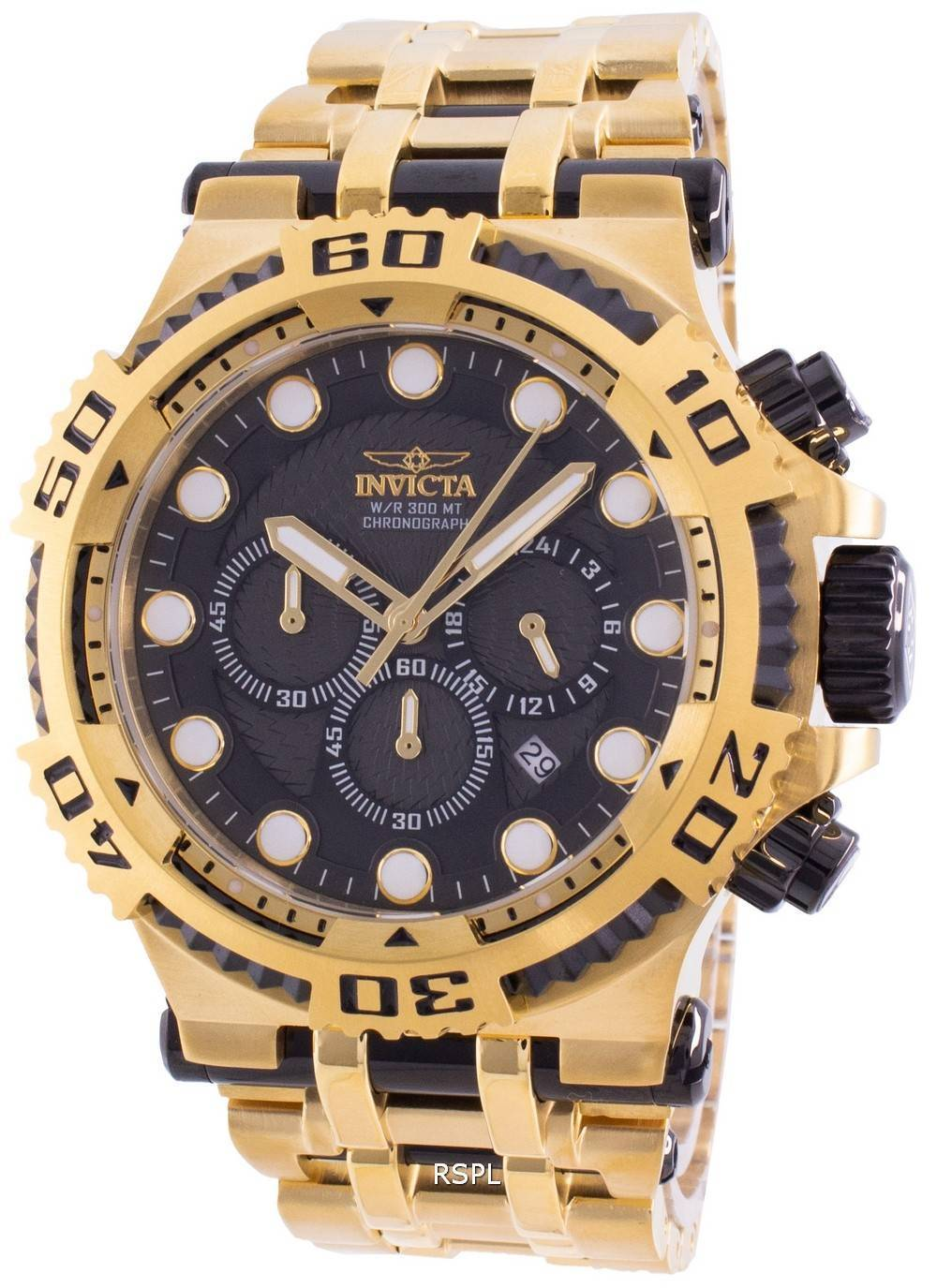 インビクタスペシャルティ30644クォーツクロノグラフ300Mメンズ腕時計