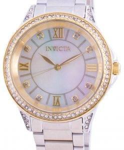 インビクタエンジェル30931クォーツダイヤモンドアクセントレディース腕時計