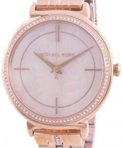 マイケルコースシンシアMK3643クォーツダイヤモンドアクセントレディース腕時計